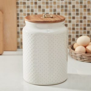 New Large Farmhouse Hobnail Canister
